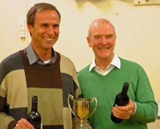 County Swiss Pairs winners - Mike Seaver & Simon Barb